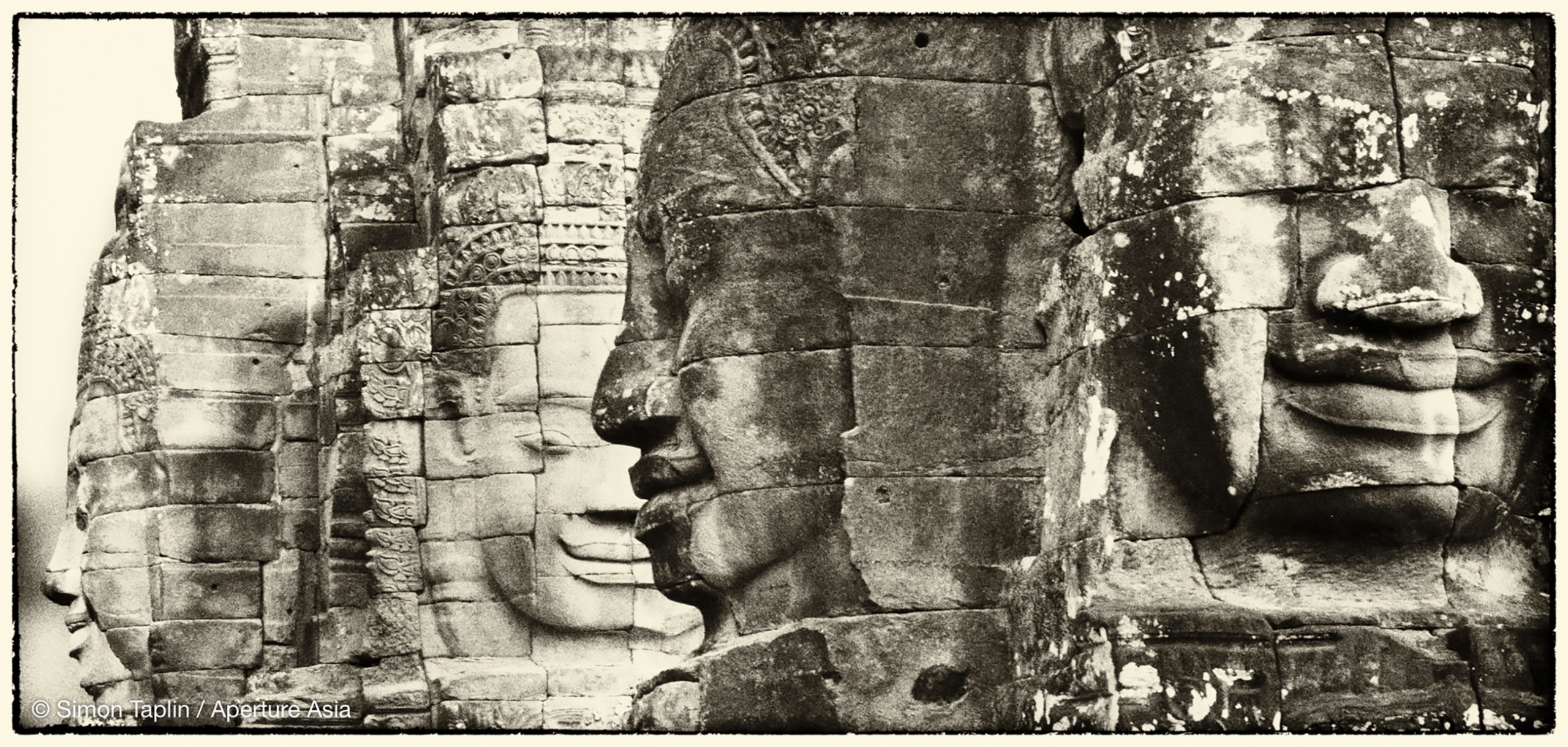 The four faces of Buddha.